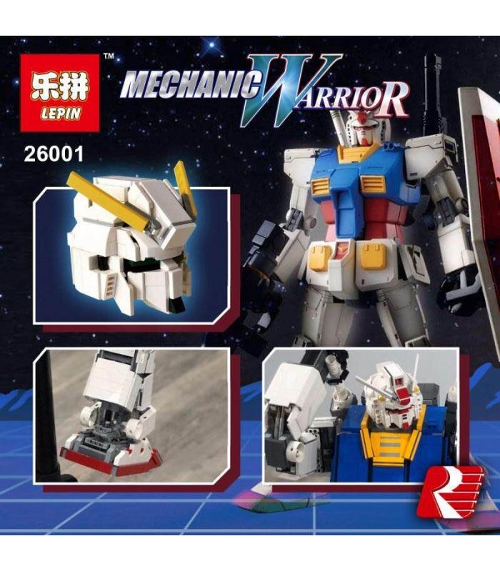 LEPIN 26001 Gundam RX-78-2 Robot MOC Briques de Construction, Jeu de