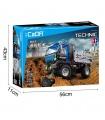 Double Eagle CaDA C51017 Dump Truck Building Blocks Spielzeug-Set