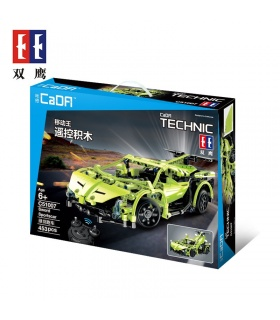 Double Eagle CaDA C51007 Sword Sportcar Building Blocks Set