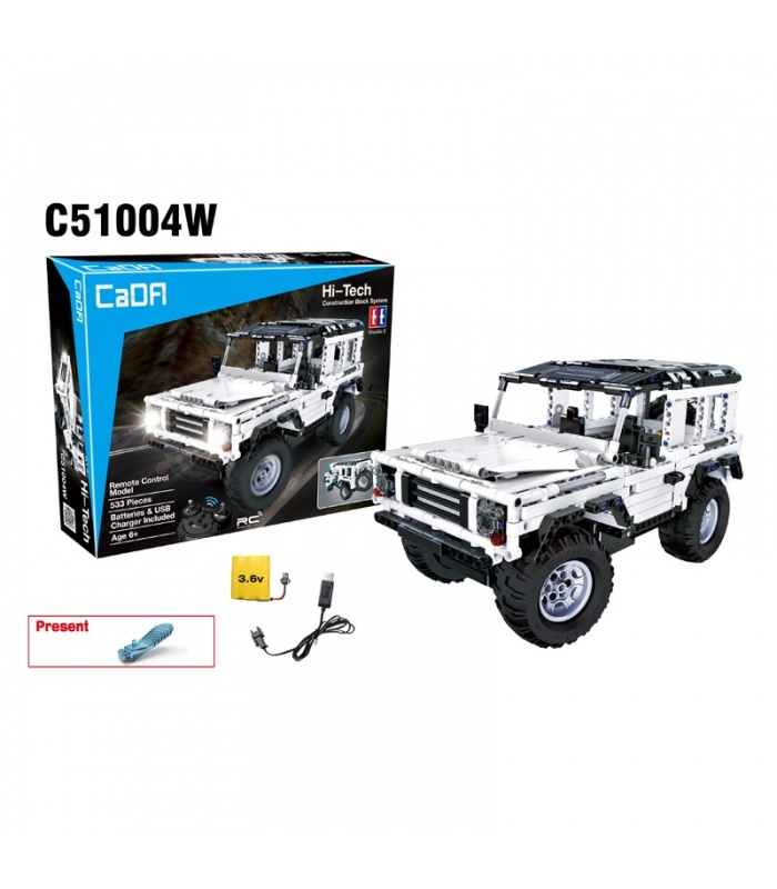 Double Eagle CaDA C51004 Land Rover Defender Building Blocks Set