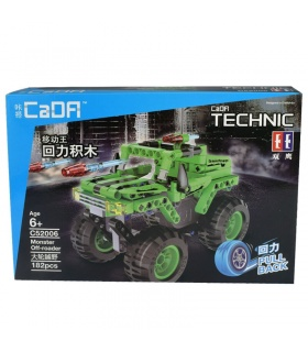 Double Eagle CaDA C52006 Monster Off-Roader Building Blocks Set