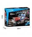 Двойной Орел Када C51002 Автоколонна Строительные Блоки Комплект Игрушки