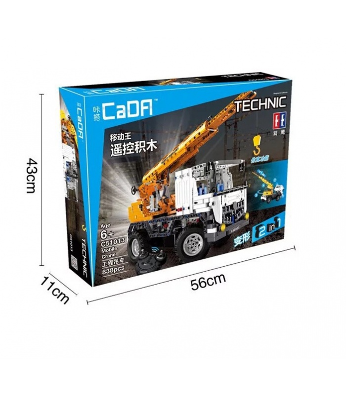 Двойной Орел Када C51013 Передвижной Кран Строительные Блоки Комплект