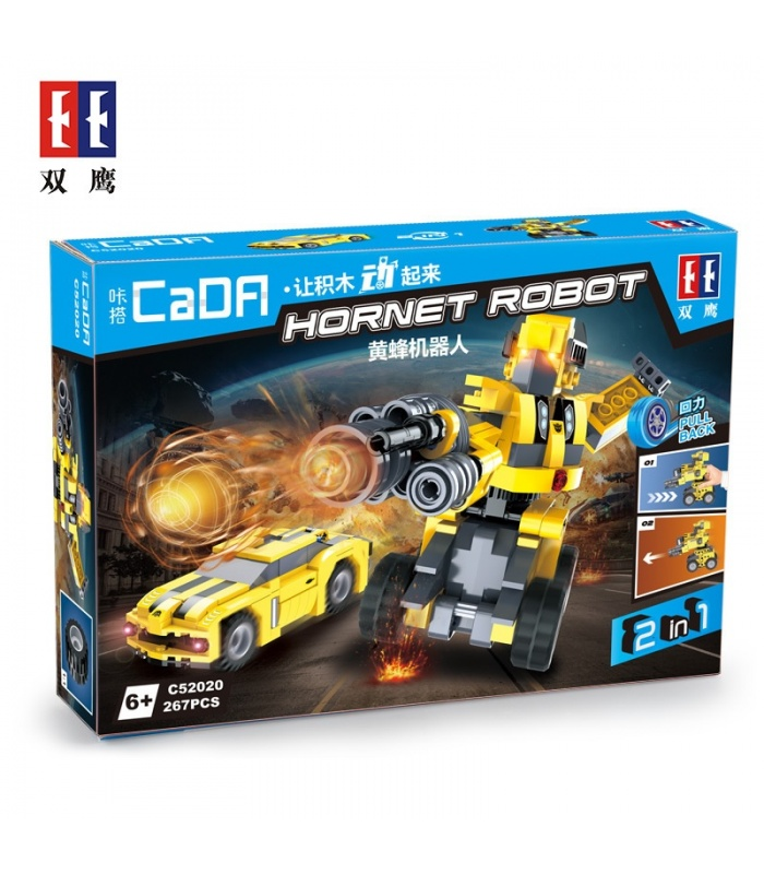 Double Eagle CaDA C52020 Hornet Robot Building Blocks Set