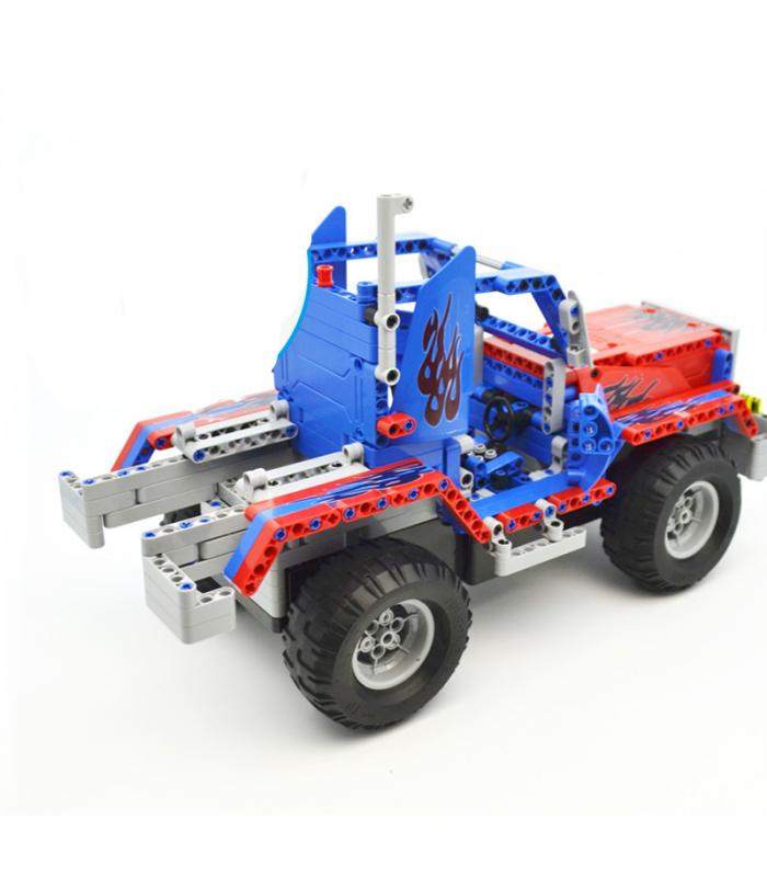 Двуглавый Орел Када C51002 Автоколонна Строительные Блоки Комплект