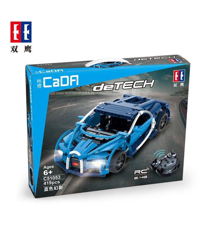Double Eagle CaDA C51053 Bugatti Chiron Building Blocks Toy Set