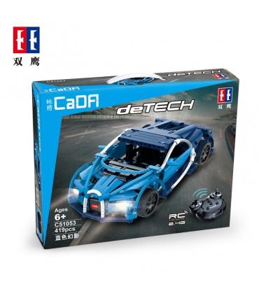 Doble Águila De CaDA C51053 Bugatti Chiron La Construcción De Bloques