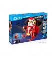 ダブルイーグルCaDA C51034クリスマスのスノーモービルブロック玩具セット