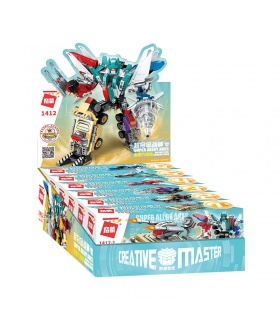 ENLIGHTEN 1412 Super Alloy Ares Building Blocks Set
