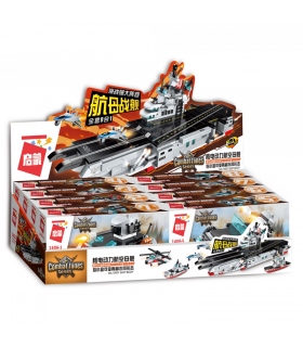 ENLIGHTEN 1406 Carrier Warship Building Blocks Set