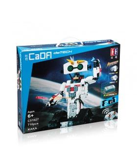 ダブルイーグルCaDA C51027かかロボットのブロックの設定