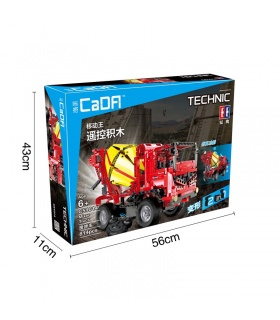 Double Eagle CaDA C51014 Mixer Truck Building Blocks Set