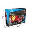 ダブルイーグルCaDA C51014ミキサートラックブロック玩具セット