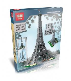LEPIN 17002 Eiffel Tower 1:300 Building Bricks Set