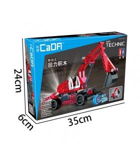 ダブルイーグルCaDA C52012ショベルブロックの設定