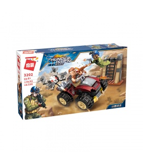 ENLIGHTEN 3202 Moutain Ambush Building Blocks Set
