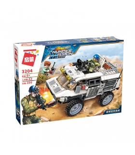 ENLIGHTEN 3204 Armored vehicle's Crisis Building Blocks Set