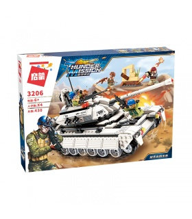 ENLIGHTEN 3206 Tank Attack Building Blocks Set