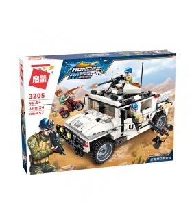 ÉCLAIRER 3205 Hummer contre-attaque Blocs de Construction Ensemble