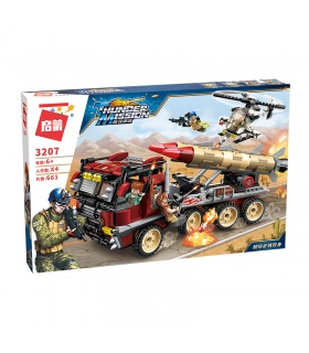 ENLIGHTEN 3207 Super Weapon Appearance Building Blocks Set