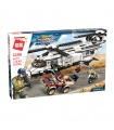 ENLIGHTEN 3208 Gunship Aircraft Building Blocks Spielzeug-Set
