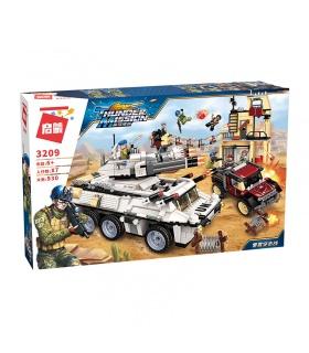 ÉCLAIRER 3209 Lourds Armés Véhicule Attaque Blocs de Construction Ensemble