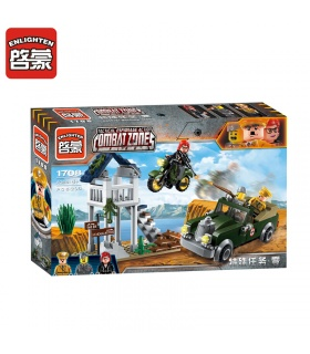 ENLIGHTEN 1708 Special Mission.Zero Building Blocks Set