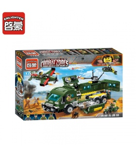ENLIGHTEN 1709 Attack The Tank Building Blocks Set