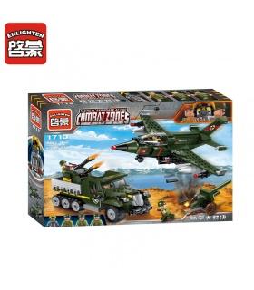 ILUMINAR 1710 Aire-Tierra de la Batalla de Bloques de Construcción de Conjunto