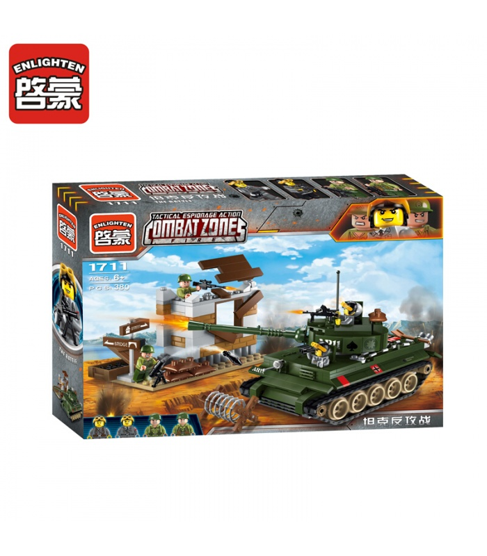 ENLIGHTEN 1711 The Battle Building Blocks Set