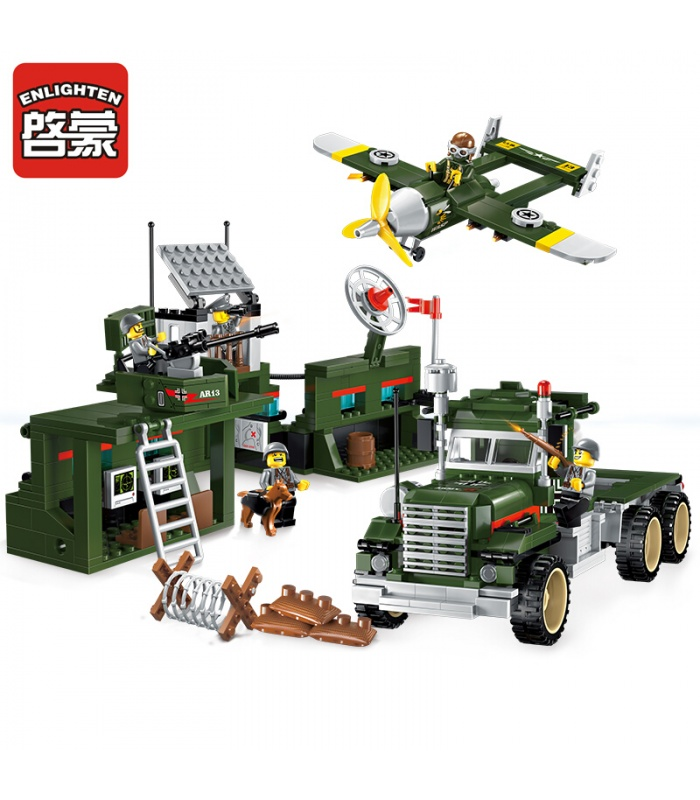 AUFKLÄREN 1713 Mobile Strike Force Fahrzeug-Bausteine-Set