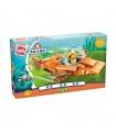 ENLIGHTEN 3701 GUP-B Tiger Shark Vehicle Building Blocks Toy Set