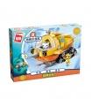 ENLIGHTEN 3704 GUP-S Narwhal Boat Building Blocks Toy Set