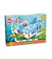ENLIGHTEN 3705 GUP-W White Shark Mobile Base Building Blocks Toy Set