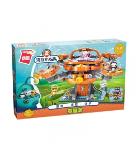 ENLIGHTEN 3708 Octonauts Old Octopod Building Blocks Toy Set