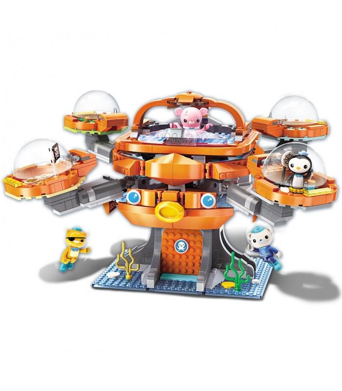 啓発3708Octonauts古Octopodビルブロック玩具セット