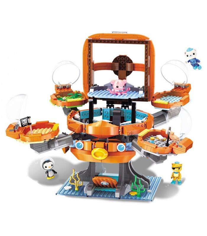ENLIGHTEN 3708 Octonauts Old Octopod Building Blocks Spielzeugset