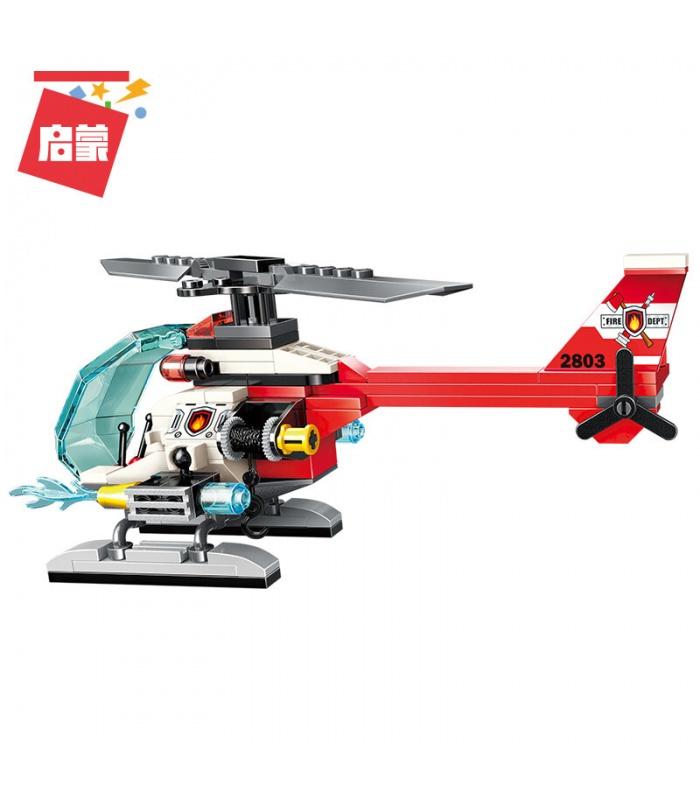 ÉCLAIRER 2803 Hélicoptère de Sauvetage Blocs de Construction Ensemble
