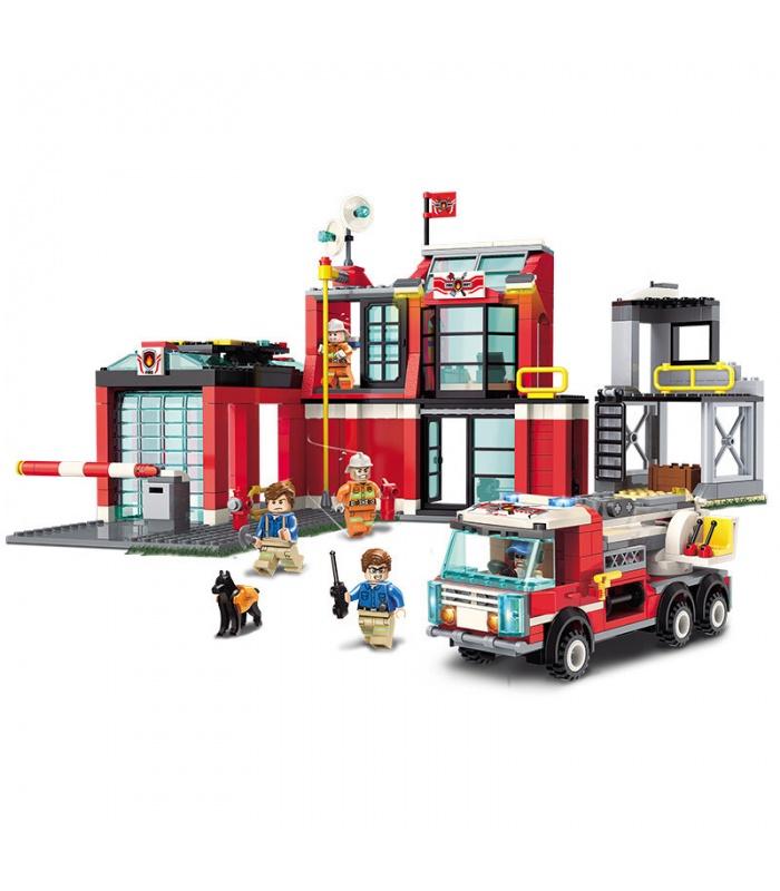 Просветите 2808 пожарное депо блоков