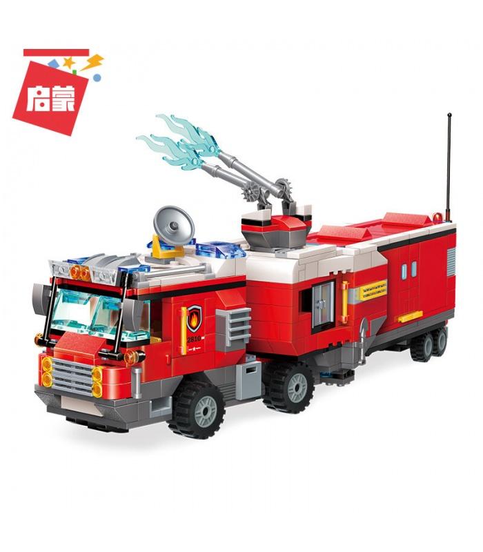 ÉCLAIRER 2810 Double Camion de pompiers Attaque Blocs de Construction Ensemble