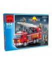 ENLIGHTEN 904 Three Bridge Fire Engines Building Blocks Toy Set