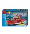ENLIGHTEN 909 Multi-Function Fire Ship Building Blocks Toy Set