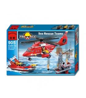 Просветите 905 спасатели на море строительные блоки комплект