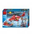 ENLIGHTEN 905 Sea Rescue Teams Building Blocks Toy Set
