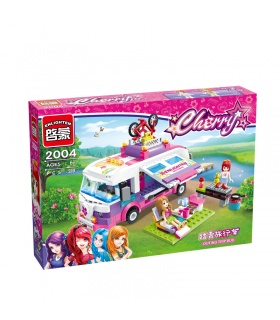 ENLIGHTEN 2004 Outing Trip Bus Building Blocks Set