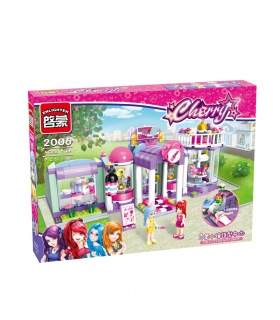 ENLIGHTEN 2006 Enli City Beauty Shop Building Blocks Set
