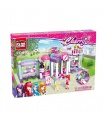 ENLIGHTEN 2006 Enli City Beauty Shop Building Blocks Toy Set