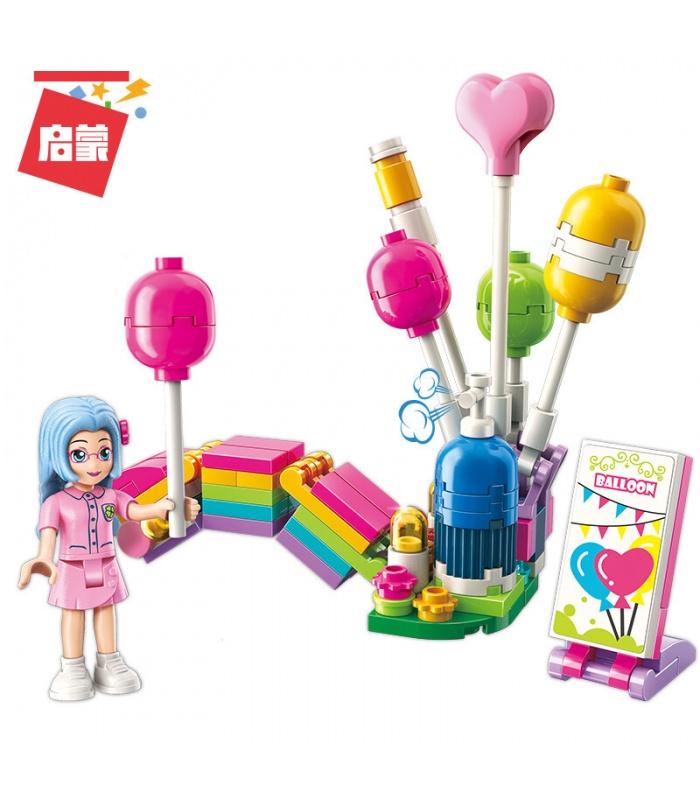 ENLIGHTEN 2008 Rainbow Balloon Booth Building Blocks Set
