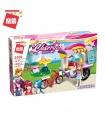 ENLIGHTEN 2009 Ice Cream Cart Building Blocks Toy Set
