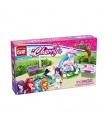 ENLIGHTEN 2002 Dolphin Trevi Fountain Building Blocks Toy Set